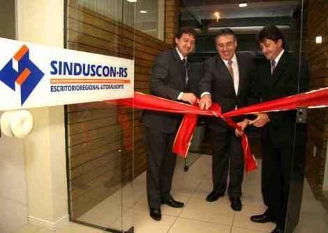 Inauguração da primeira Regional Sinduscon-RS